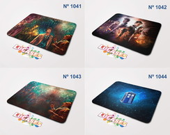 Mouse Pad Doctor Who Serie Series Tardis