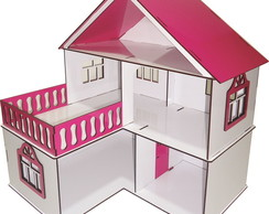 Casa Casinha BONECAS MDF POLLY JULY S