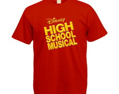 Camiseta Colorida High School Musical
