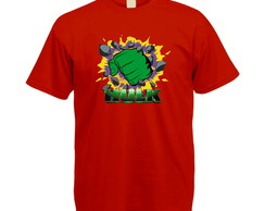 Camiseta Colorida Hulk