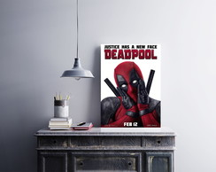 "Placa decorativa ""Deadpool"""