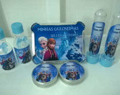 Kit personalizados 80 itens Frozen