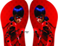chinelo lady bug e cat noir