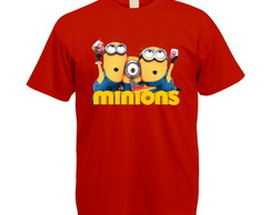 Camiseta Colorida Minions