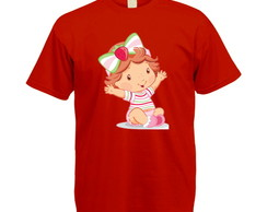 Camiseta Colorida Moranguinho Baby