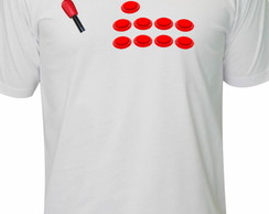 Camiseta Fliperama Retro Game Atari