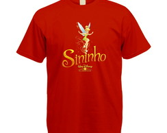 Camiseta Colorida Sininho