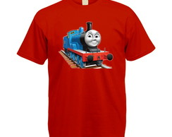 Camiseta Colorida Thomas e Seus Amigos