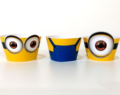 MINIONS - Wrapper (saia) mini cupcake