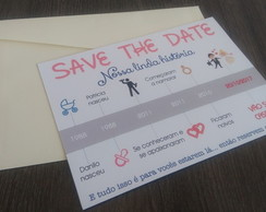 Save the date com imã