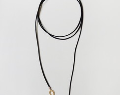 Choker Gold Horseshoe