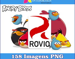 Kit Angry Birds PNG 158 Imagens