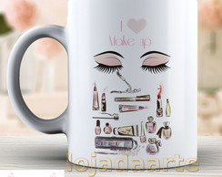 Caneca Love Make up - Xicara 1570