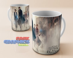 Caneca Fantastic Beasts - Harry Potter