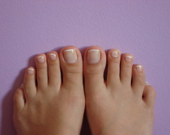 Pedicure francesinha