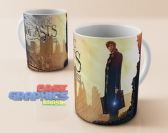 Caneca Fantastic Beasts 4 - Harry Potter