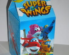 Caixa Milk Estampada Super Wings