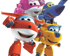 Aplique personagens Super wings