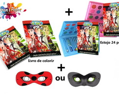Kit colorir Miraculous