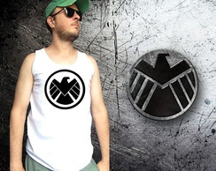 Camisetas Shield e Hydra, da MARVEL