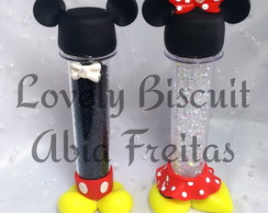 Tubete Mickey / Minnie para doces