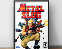 Quadro Metal Slug Game