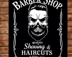Placa Retro Barber Shop 6