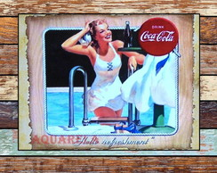 Placa Retro Coca Cola 3