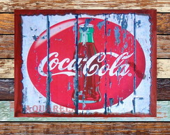 Placa Retro Coca Cola 5