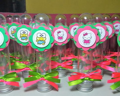 Tubete Hello Kitty e Keroppi