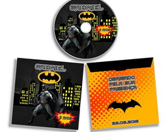 DVD ou CD Personalizado Batman