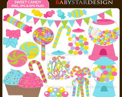 Kit Digital - Cupcakes e Doces 3