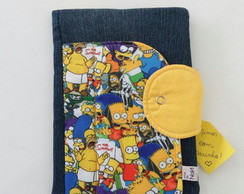 Capa de Caderno Do Simpson