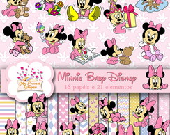 KIT DIGITAL Minnie Baby