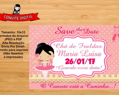 Save the date Digital Chá de Fraldas