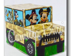 Caixa Carro Mickey Safari