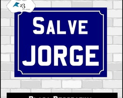 Placa de Decorativa - Salve Jorge