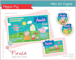 Mini Kit Digital Peppa Pig