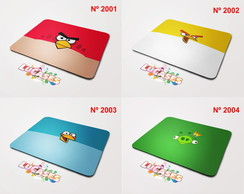 Mouse Pad Angry Birds Red Chuck Pig
