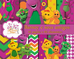 Kit digital Barney e seus amigos