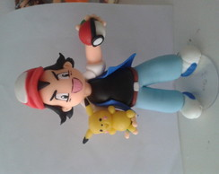 Ash pokemon de biscuit