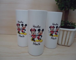Copo Long Drink Mickey e Minnie