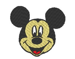 Matriz de bordado - Mickey
