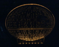 Luminaria Star Wars death star rogue one