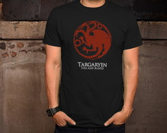 Camiseta Game of Thrones - Targaryen GoT