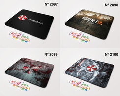 Mouse Pad Resident Evil 6 7 Umbrella