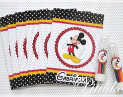 Kit Colorir com estojo - Mickey