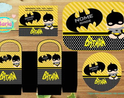 Kit de artes Batman Baby