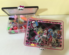 caixinha organizadora Monster high