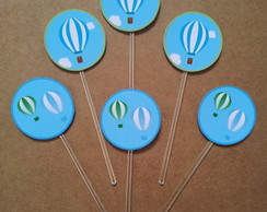 Toppers para doces personalizados